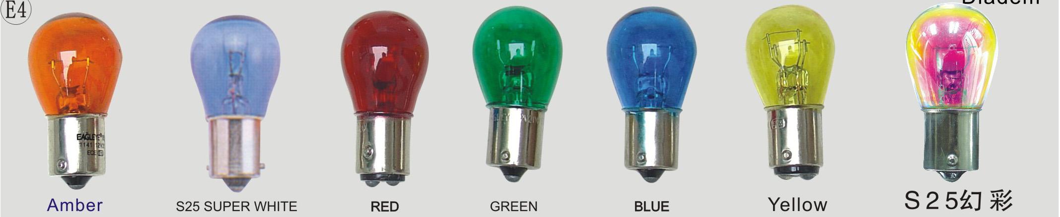 中灯 转弯信号灯s25 p21w  产品:s25   产品用途:s25产品属于汽车指示